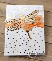 where to buy patty paper copper dragonfly springtime foils metallic cards patty s