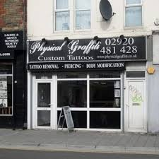 physical graffiti tattoo 124 city road cardiff phone number