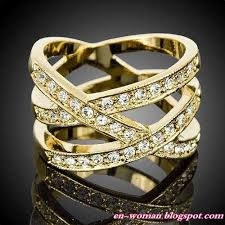 girls golden rings images Torefashion golden accessories 2011 gold rings of the for jpg
