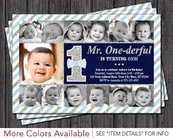 First Birthday Invitation Cards For Boys Mr Onederful Birthday Invitation U2022 Mr One Derful First Birthday