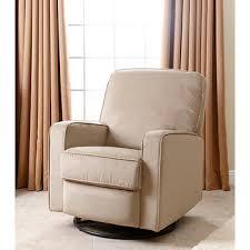 abbyson living bailey swivel glider recliner chair beige bj u0027s