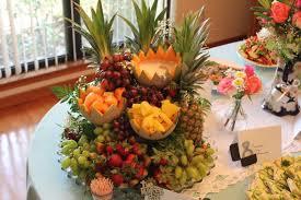 fruit centerpiece cascading fruit centerpiece recipe hungryforever food