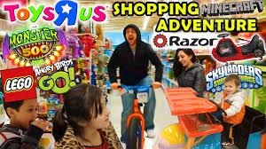 toys r us family shopping adventure razor cart