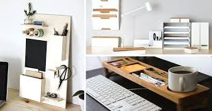 Organized Desk Desk Organizer Ideas I These Simple Organization Ideas To