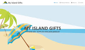 home network design project my island gifts website design project