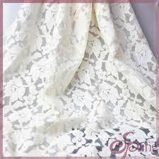 white flower applique designs embroidered fabric elegant organza