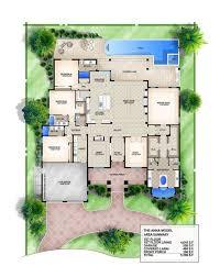 anna coastal floor plan 4 bedroom 4 1 2 bath 1 story 2 car