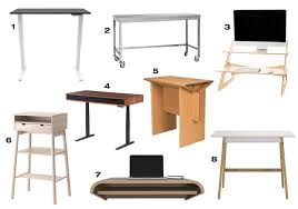 8 standing desks that will have you ditching your chair design milk