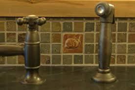 Tile In The Kitchen - customer installation photos art tiles in the kitchen handmade