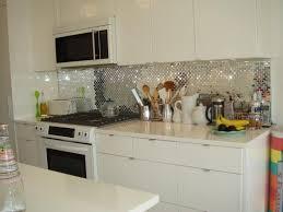 backsplash for kitchen with white cabinet white cabinet with sparkling silver backsplash ideas for modern
