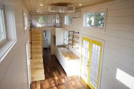Micro Homes Interior Custom Gooseneck By Nomad Tiny Homes Tiny Living