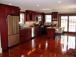 cherry wood kitchen cabinets saddle traditional light wood