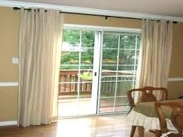 Slider Door Curtains Curtain Ideas For Sliding Glass Doors Sheer Patio Kitchen Sliding