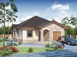 style chic single storey house designs one story modern house