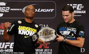Anderson Silva Bench Press Ufc 162 Anderson Silva V Chris Weidman Preview Daily Mail Online