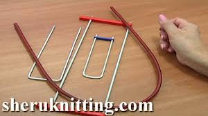 hairpin lace loom hairpin lace crochet tools tutorial 1 hairpin lace loom bent fork