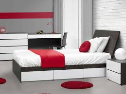 style chambre a coucher adulte blanc gris noir chambre ado adulte roses