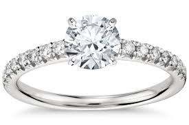 3 4ct pave halo blue 10 of the hottest engagement ring trends right now bridalguide