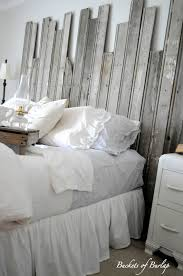 Barn Wood Headboard Remodelaholic Master Bedroom With Diy Rustic Barn Wood Headboard