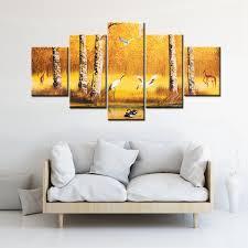 peinture pour bureau d or japonais huile toile peinture pour salon wall imprimer