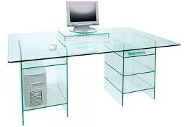 Pedestal Computer Desk Glass Computer Desk Uk Greenapple Furniture Glass Desk With