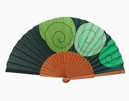 silk fans painted silk fan a43