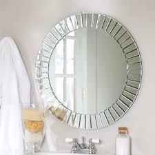 d u0026 233 cor wonderland fortune modern frameless beveled wall mirror