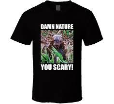 Damn Nature You Scary Meme - damn nature you scary shocked capybara planet earth funny meme t
