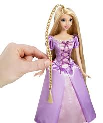 amazon disney tangled featuring rapunzel grow style doll