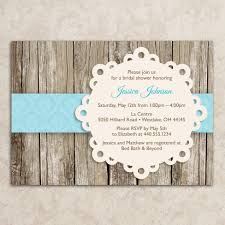 rustic bridal shower invitations marialonghi com
