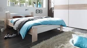 Schlafzimmer Bett Mit Matratze Vega Futonbett In Sonoma Eiche Weiß Mit Rollrost Matratze 140x200