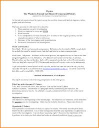 biology lab report template 6 lab report format exle ledger paper