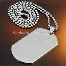 wholesale steel necklace chains images Wholesale stainless steel necklace buy stainless steel military jpg