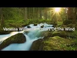 赖彩云 vanessa williams u2013 colors of the wind lyrics 赖彩云