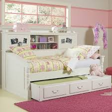 Daybed With Bookcase Headboard 110 Best Trundle Beds Images On Pinterest Trundle Beds 3 4 Beds