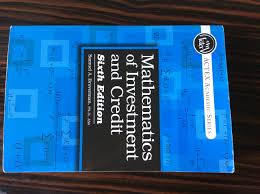 mathematics of investment and credit 6th edition samuel