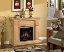 amazon com everest electric fireplace mantel in travertine marble
