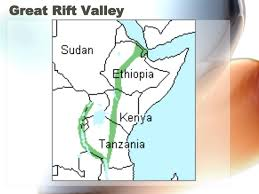 africa map great rift valley the physical features of sub saharan africa