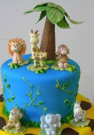 safari cake toppers jungle safari animal cake topper monkey jungle cake topper
