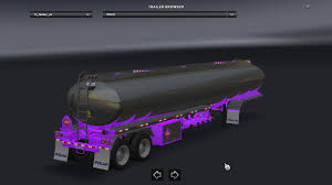 polar tanker chassis paint v1 4 american truck simulator mods