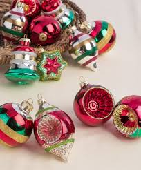 christmas ornament sets merry bright ornament collection tree classics