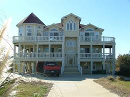 Corolla Beach House by Painting And Construction Company Outer Banks Beach Painting
