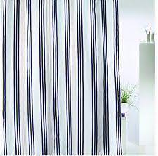 Nautical Striped Curtains Nautical Shower Curtains Ebay