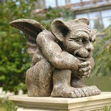 80 best garden gargoyles images on garden statues