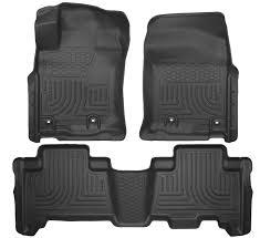 lexus gx rubber floor mats amazon com husky liners front u0026 2nd seat floor liners fits 4 16