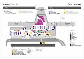 map oslo airport avinor
