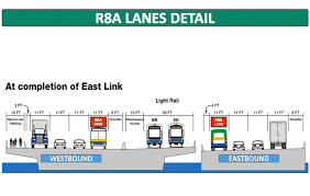 Link Light Rail Map I 90 Center Lanes Closed As Of June 4 For Light Rail Construction