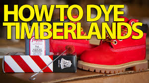 how to suede dye timberlands angelus suede dye youtube