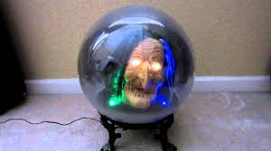 gemmy animated witch spirit ball halloween decoration youtube