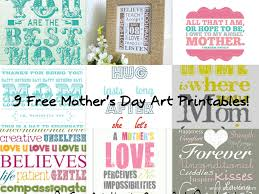9 free printable mother u0027s day subway art prints printables 4 mom